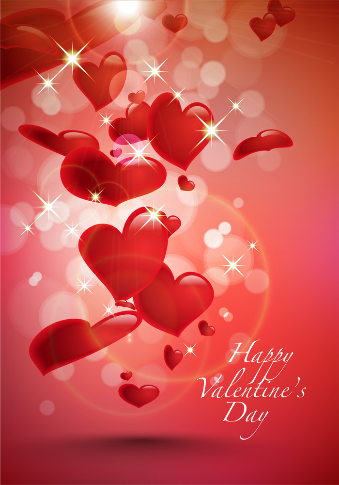 Vector Valentine's Day Card Element