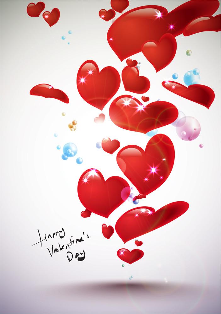 Vector Valentine's Day Card Element