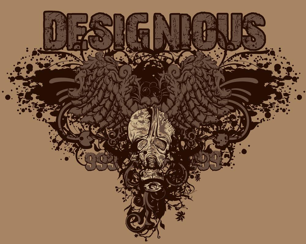 Vector Vintage T-shirt Design