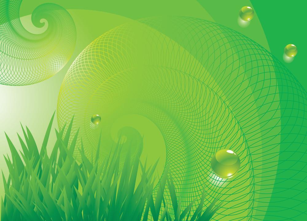 Vector Vortex Background. Nature.