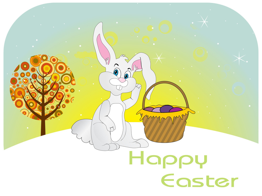 Vector Wallpaper For Easter Day