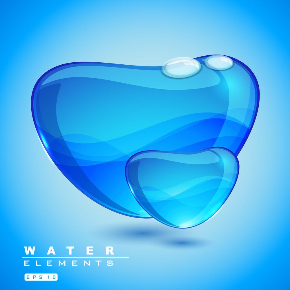 Vector Water Element