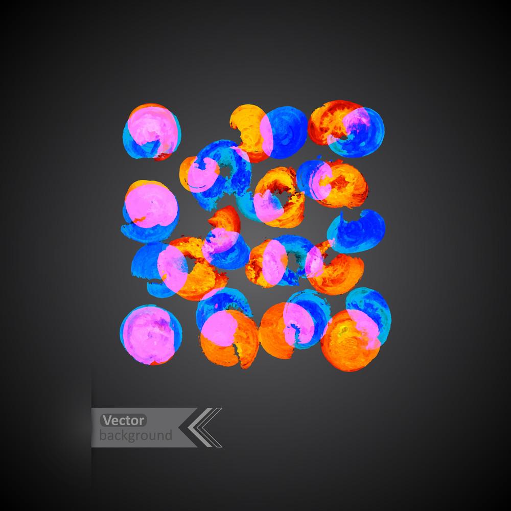 Vector Watercolor textura. Template Papel do grunge. Água. Papel molhado. blobs