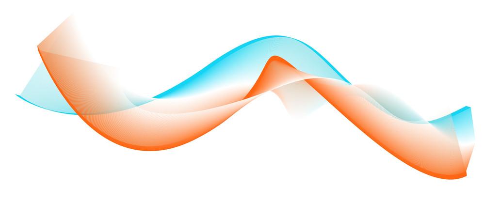 Vector Wavy Blend Lines
