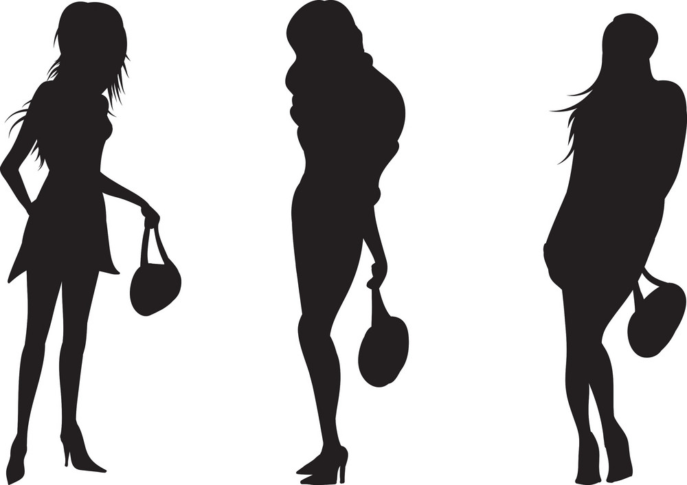 Vector Women Silhouette