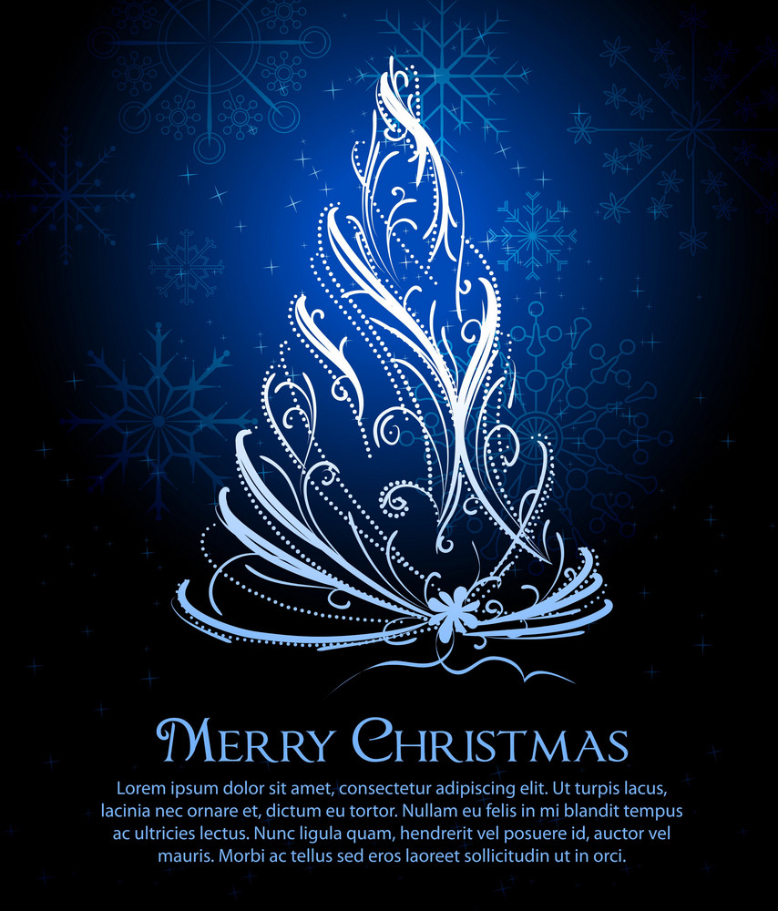 Vector Xmas Greeting Card Royalty-Free Stock Image - Storyblocks Images