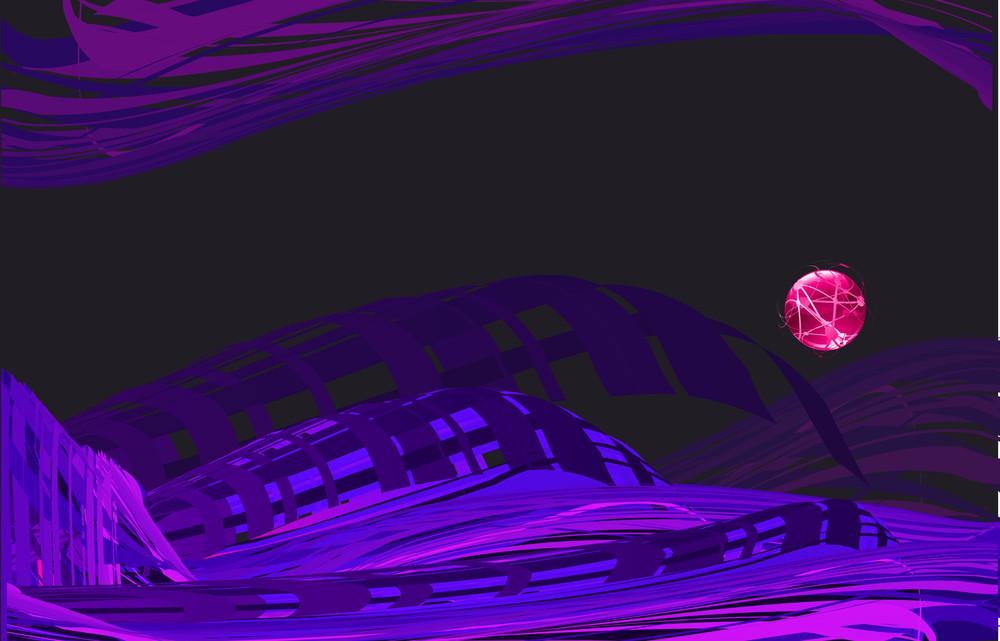 Velvet Abstract. Vector.