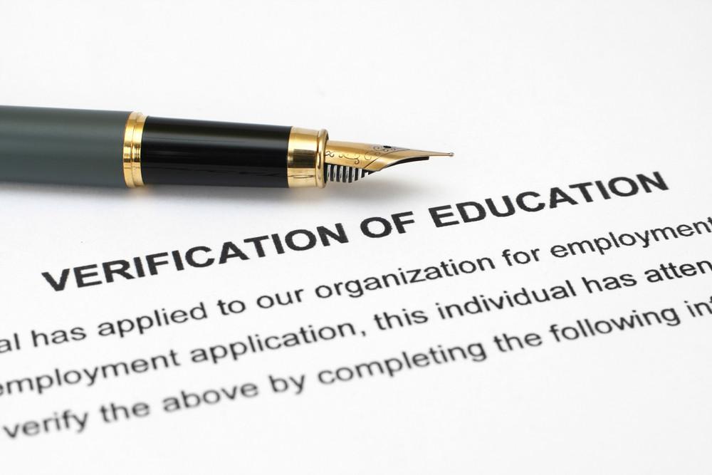 Verification Of Education
