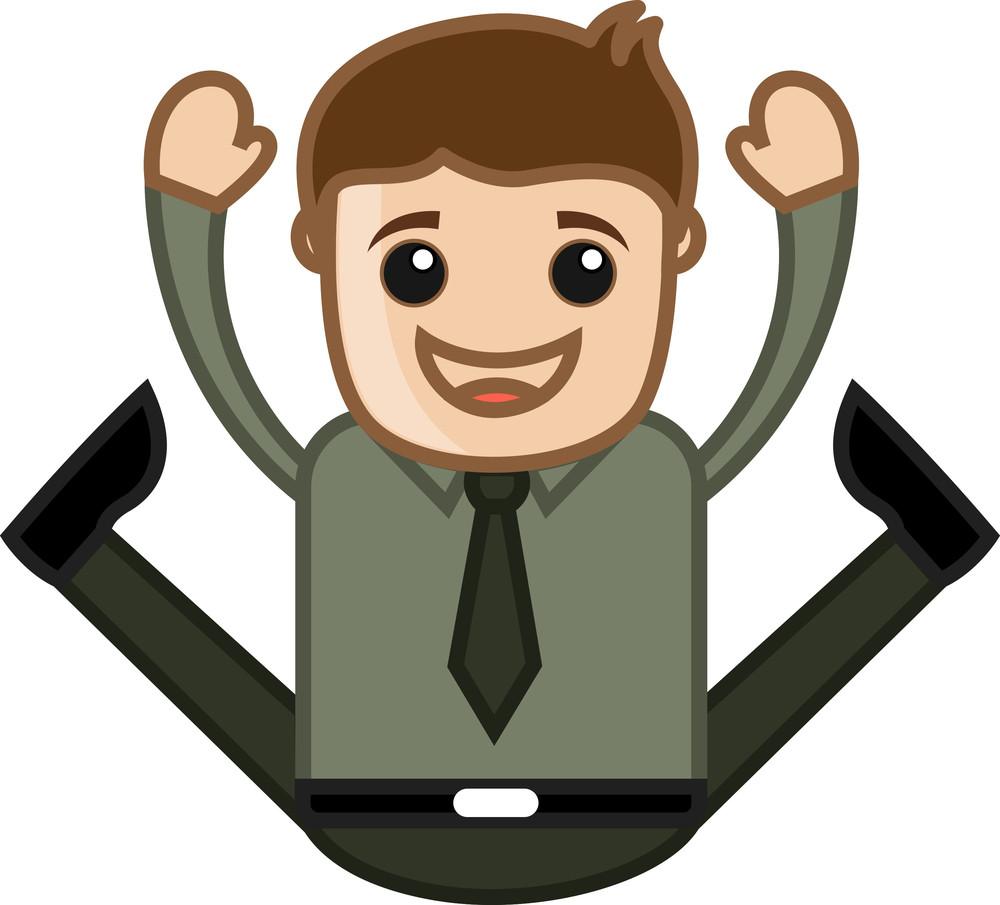 Office Corporate Cartoon People