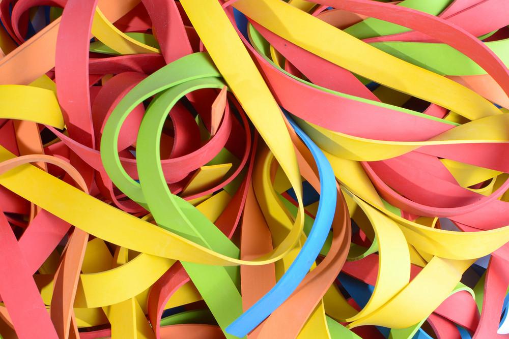 Vibrant Rubber Strips