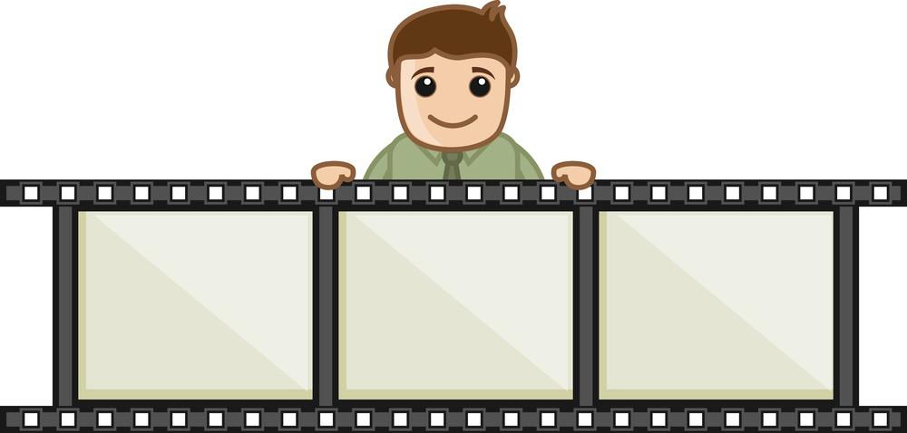 Video Editing - Business Cartoons Vectors