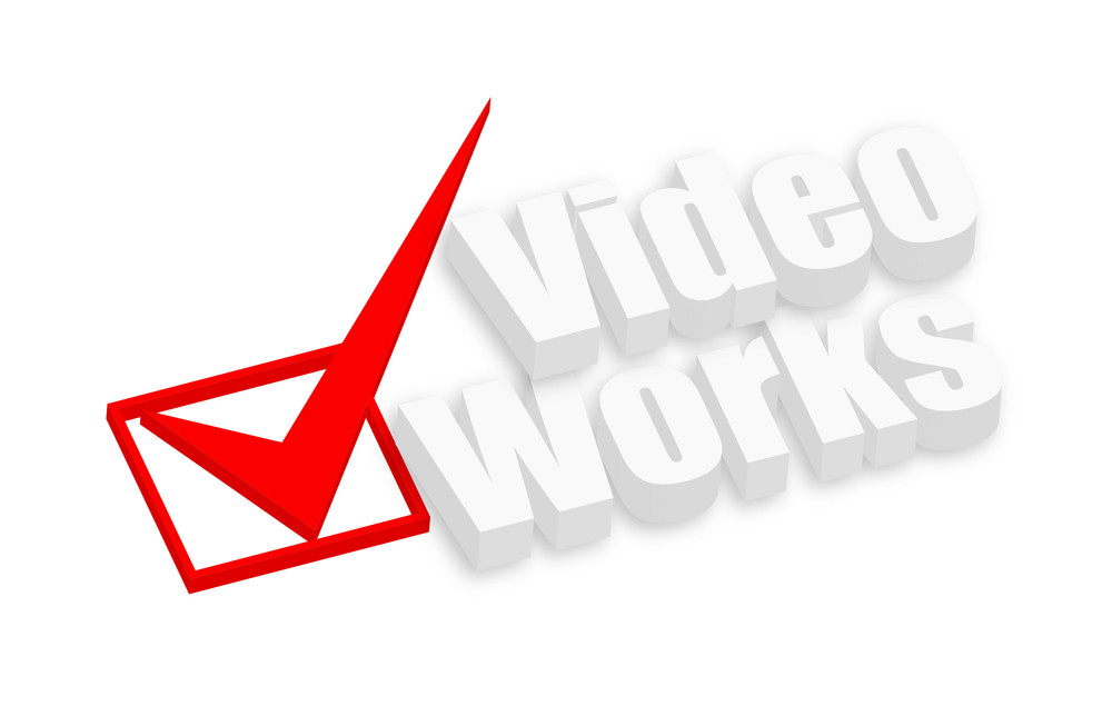 Video Works 3d Text Banner