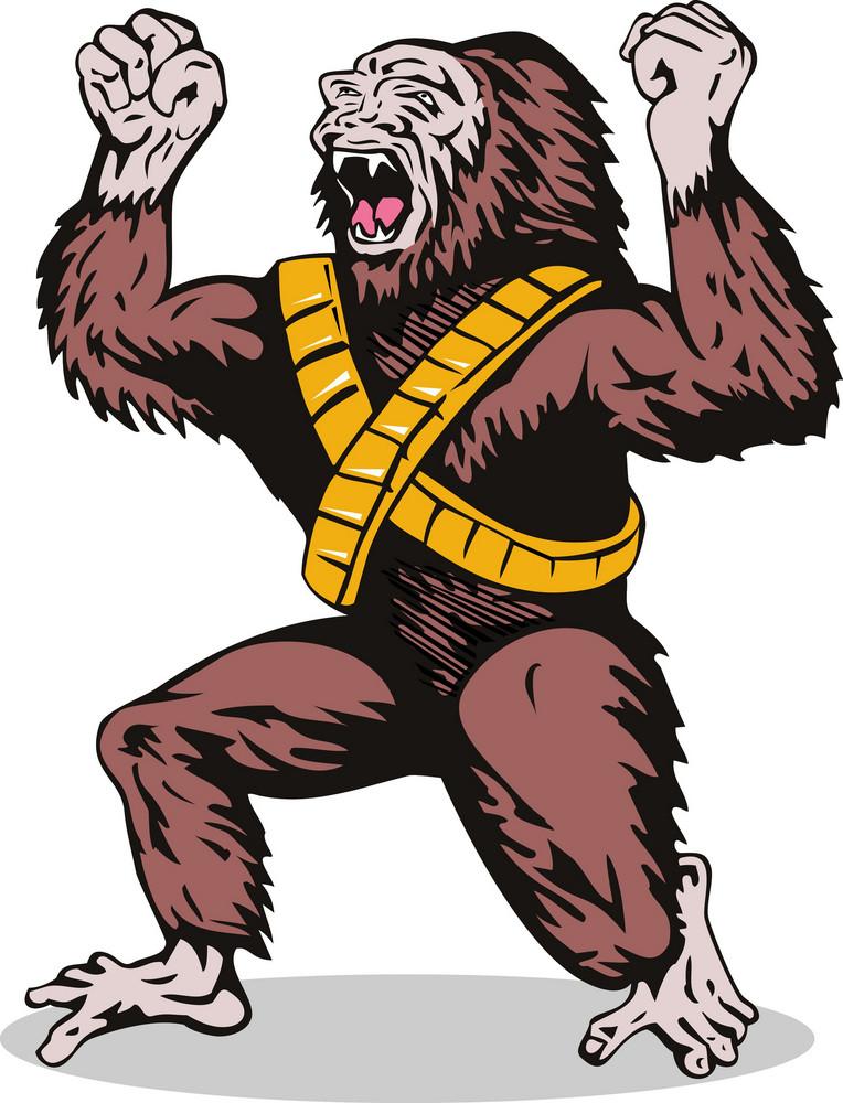 Villain Gorillaman Angry