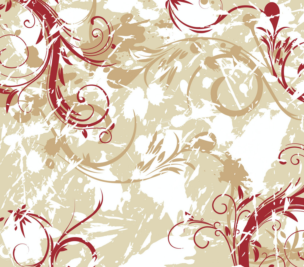 Vinatge Floral Background