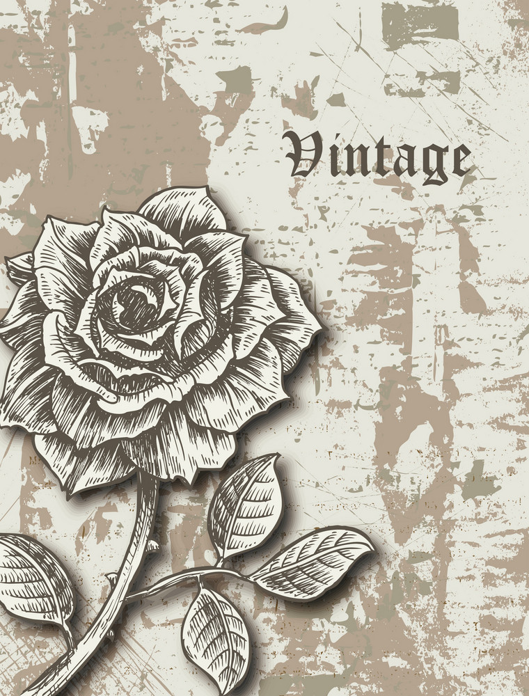 Vintage Background Vector Illustation