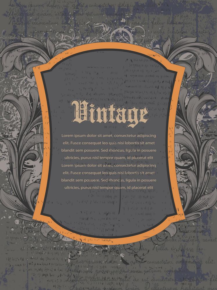 Vintage Background Vector Illustration