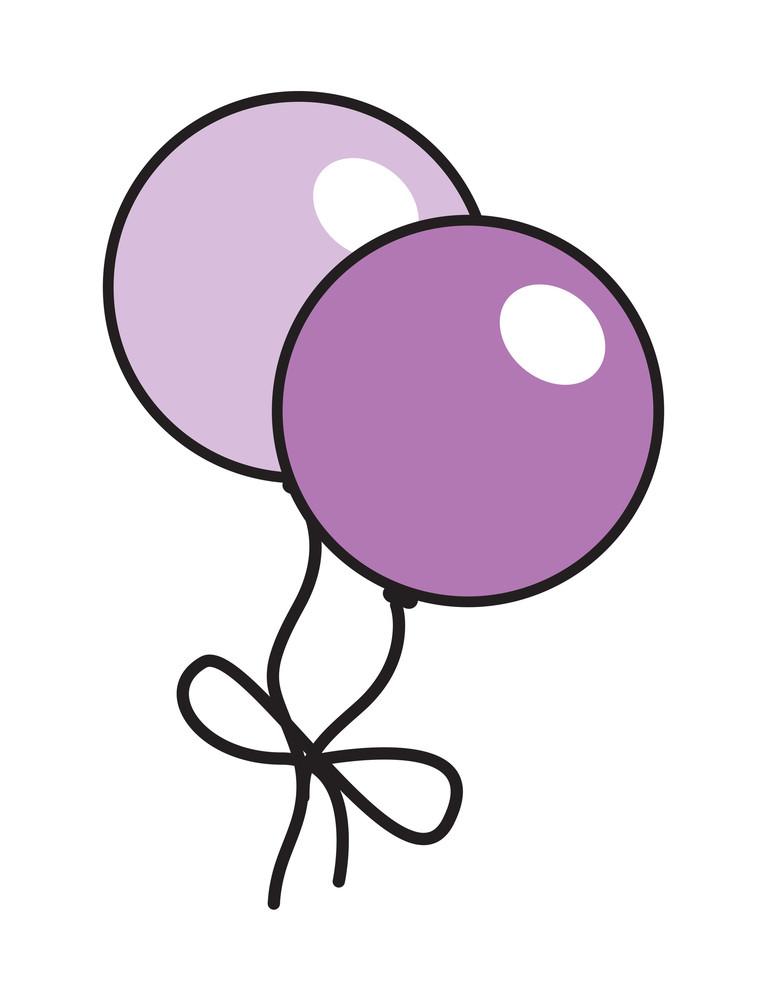 Vintage Balloons Design
