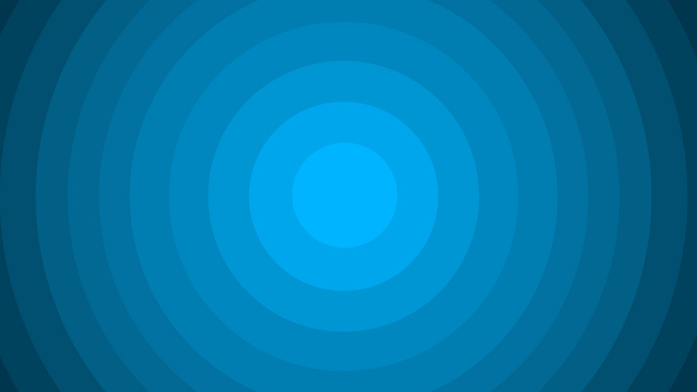 Vintage Blue Circles Banner Background