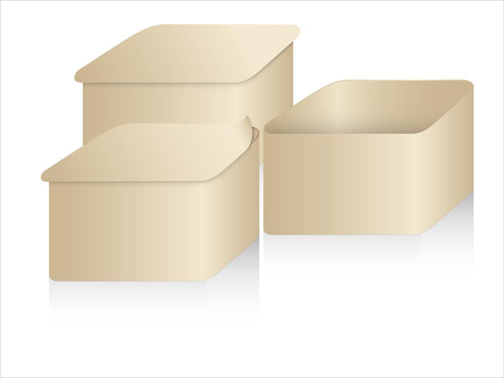 Vintage Brown Boxes