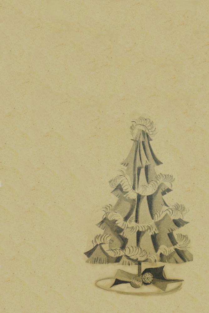 Vintage-christmas-tree-background