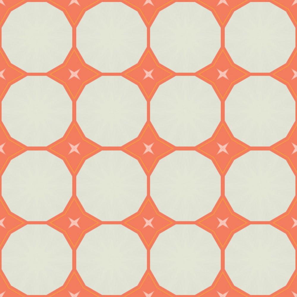 Vintage Circles Pattern Backdrop