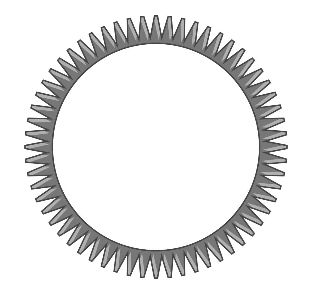 Vintage Cogwheel Design
