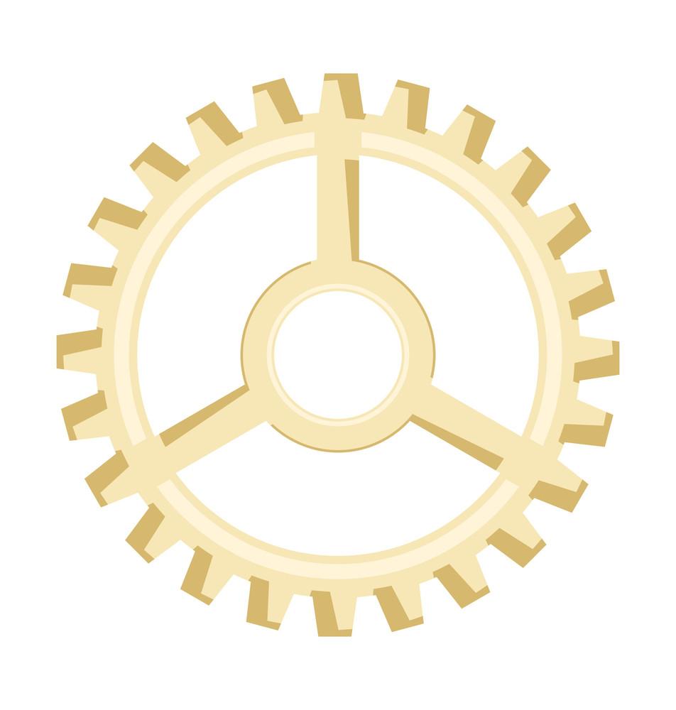 Vintage Cogwheel