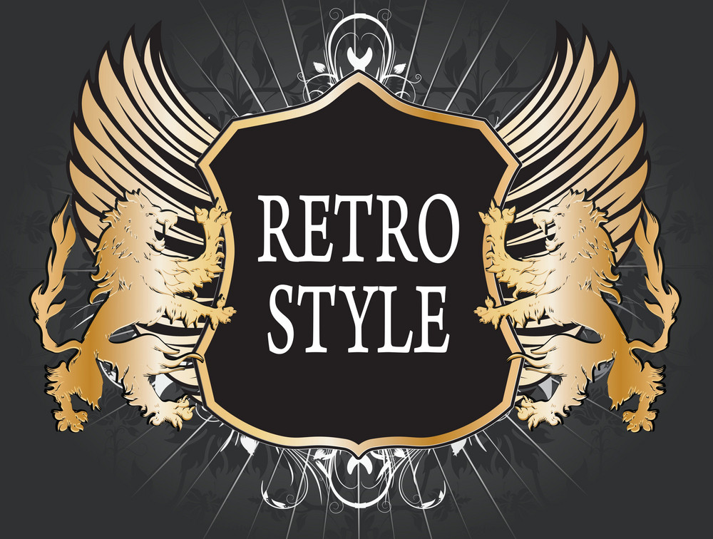Vintage Emblem Vector Illustration