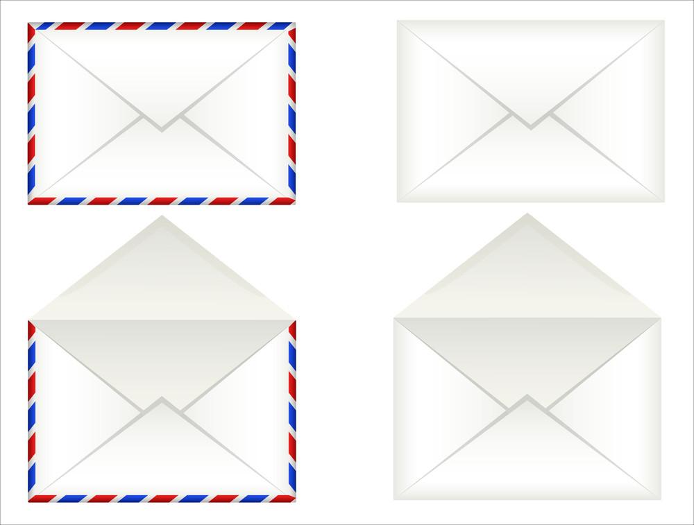 Vintage Envelopes Vectors