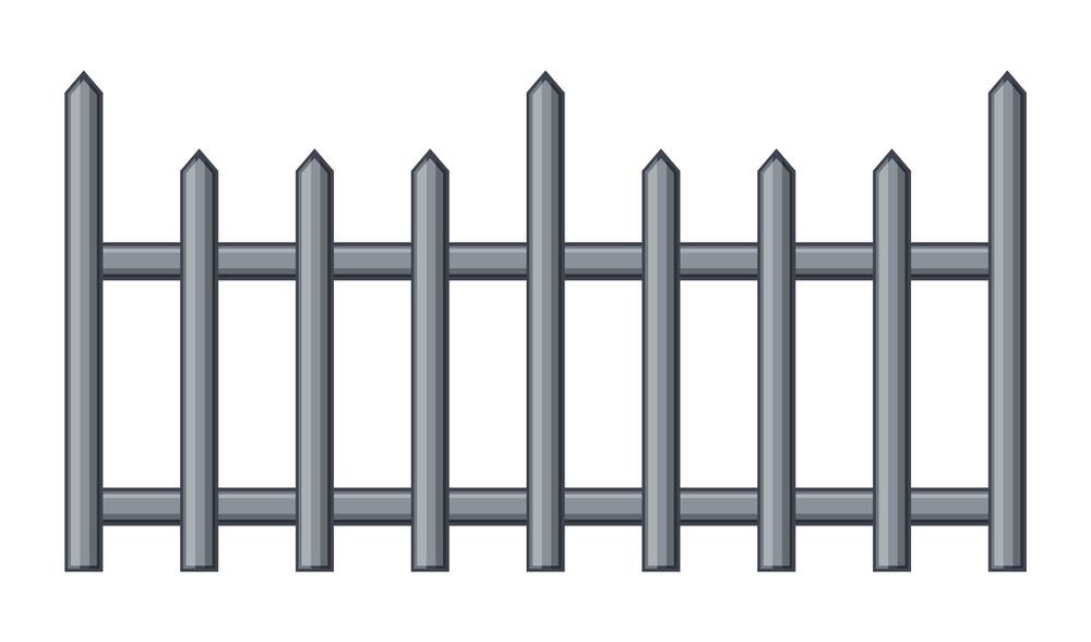 Vintage Fence Vector