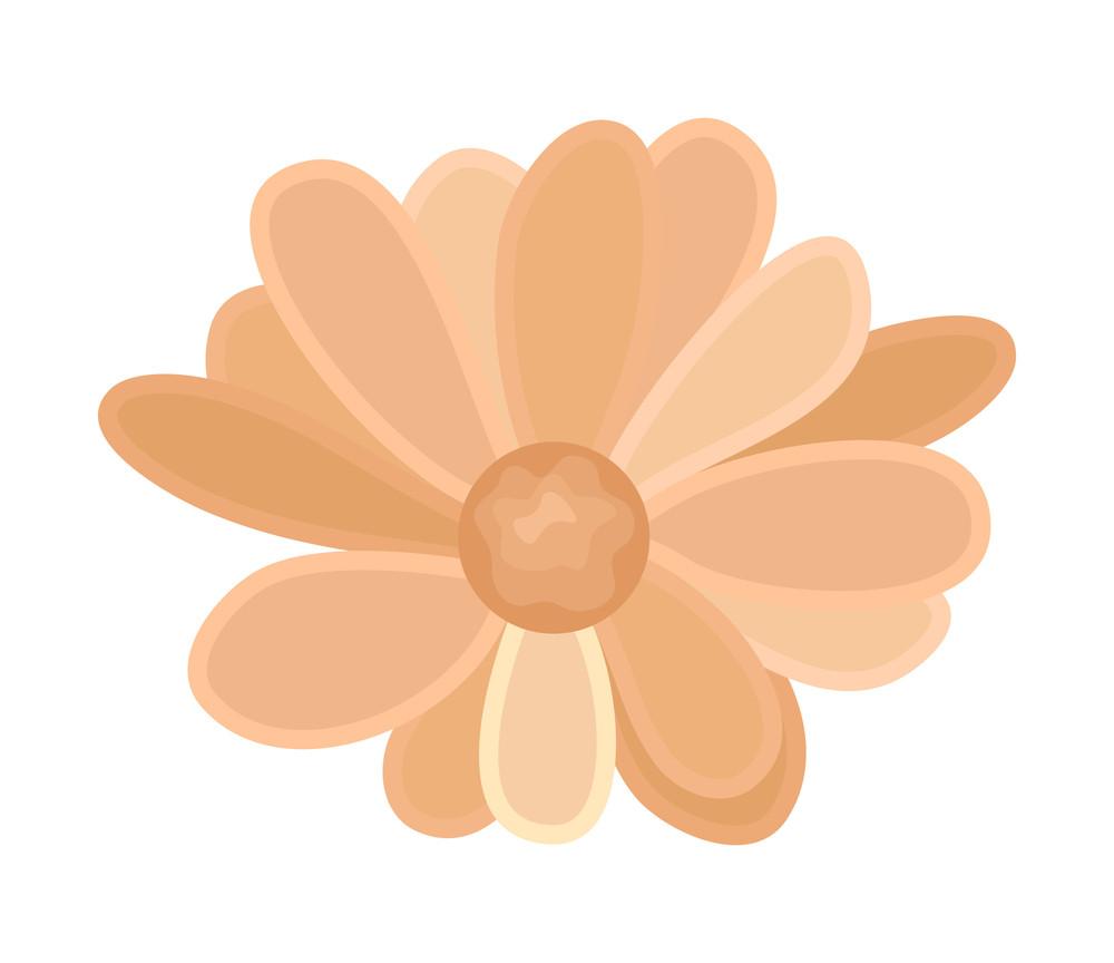 Vintage Festive Flower