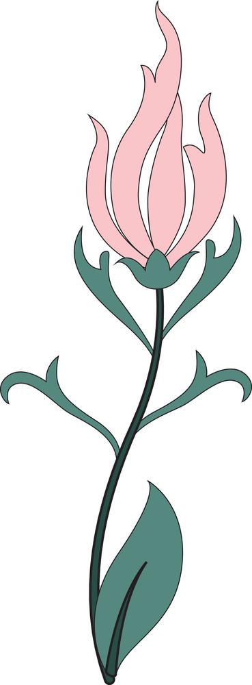 Vintage Flower Art Design