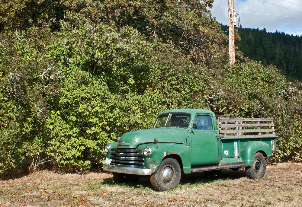 Vintage Fruit Truck