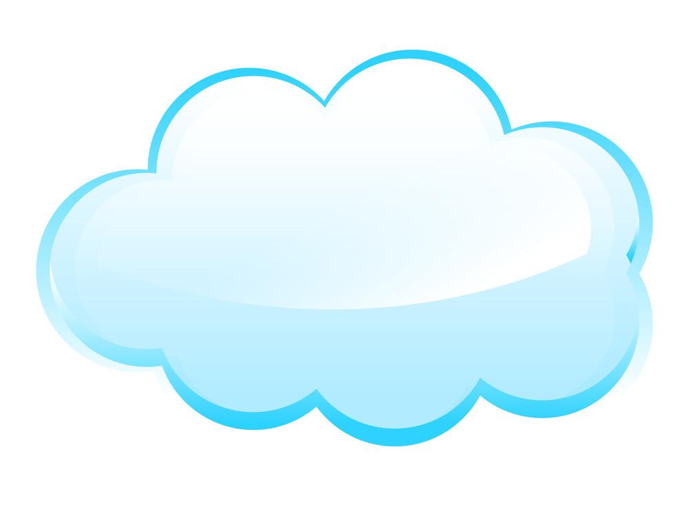 Vintage Glossy Cloud