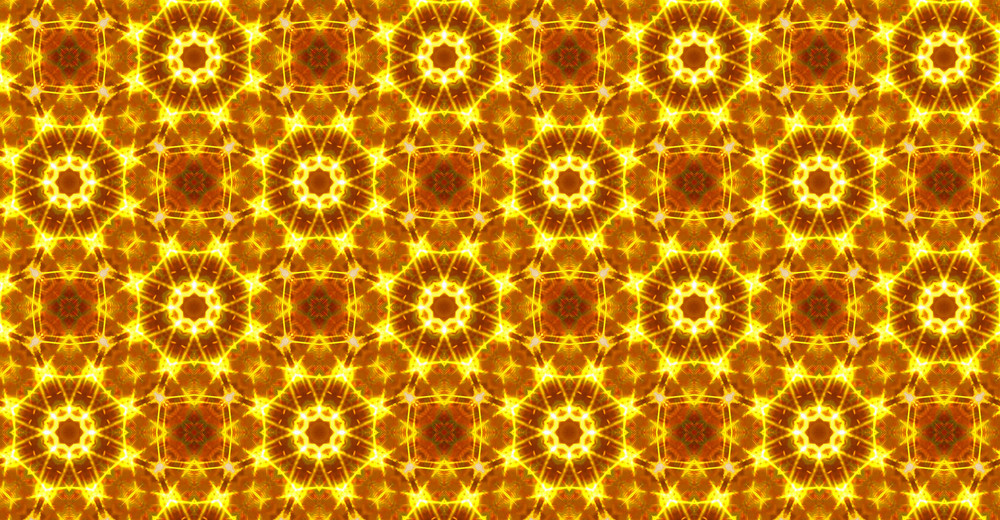 Vintage Kaleidoscope Decor Pattern Design