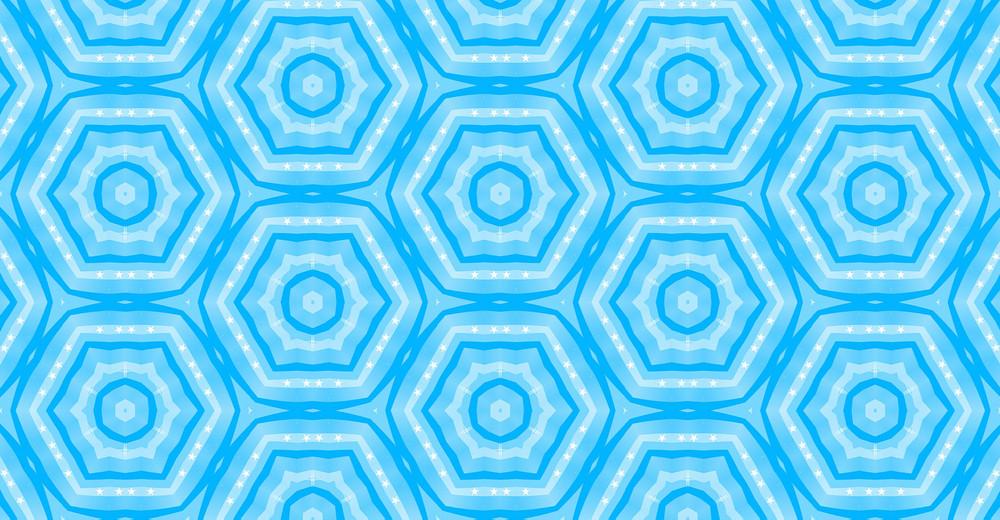 Vintage Kaleidoscope Design Art