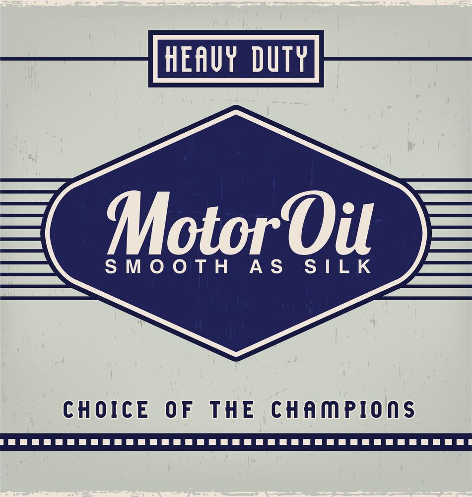 Vintage Label Design Template