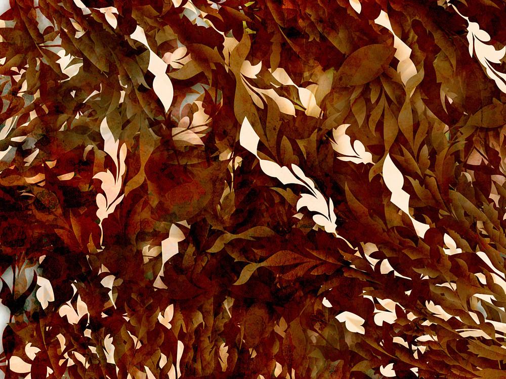 Vintage Leaves Background