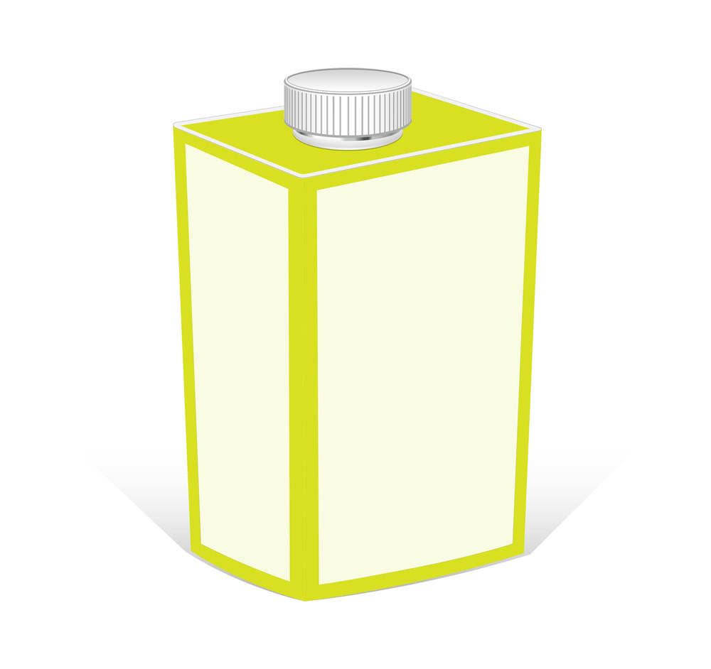 Vintage Milk Bottle Vector Design