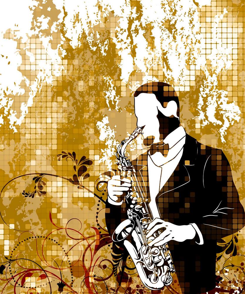 Vintage Music Poster Vector Illustration