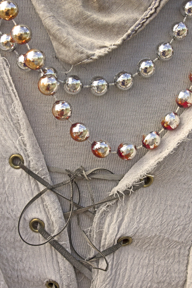 Vintage Pearls Fabric