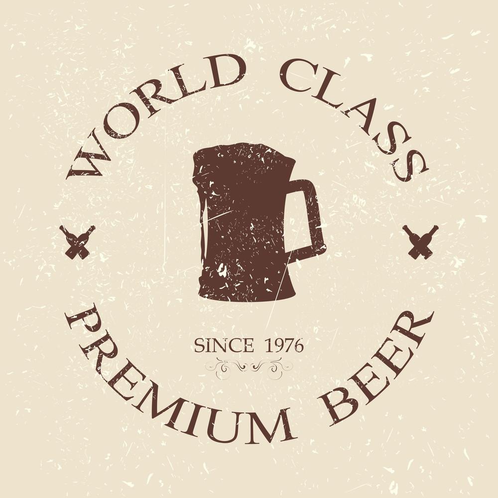 Vintage Premium Beer