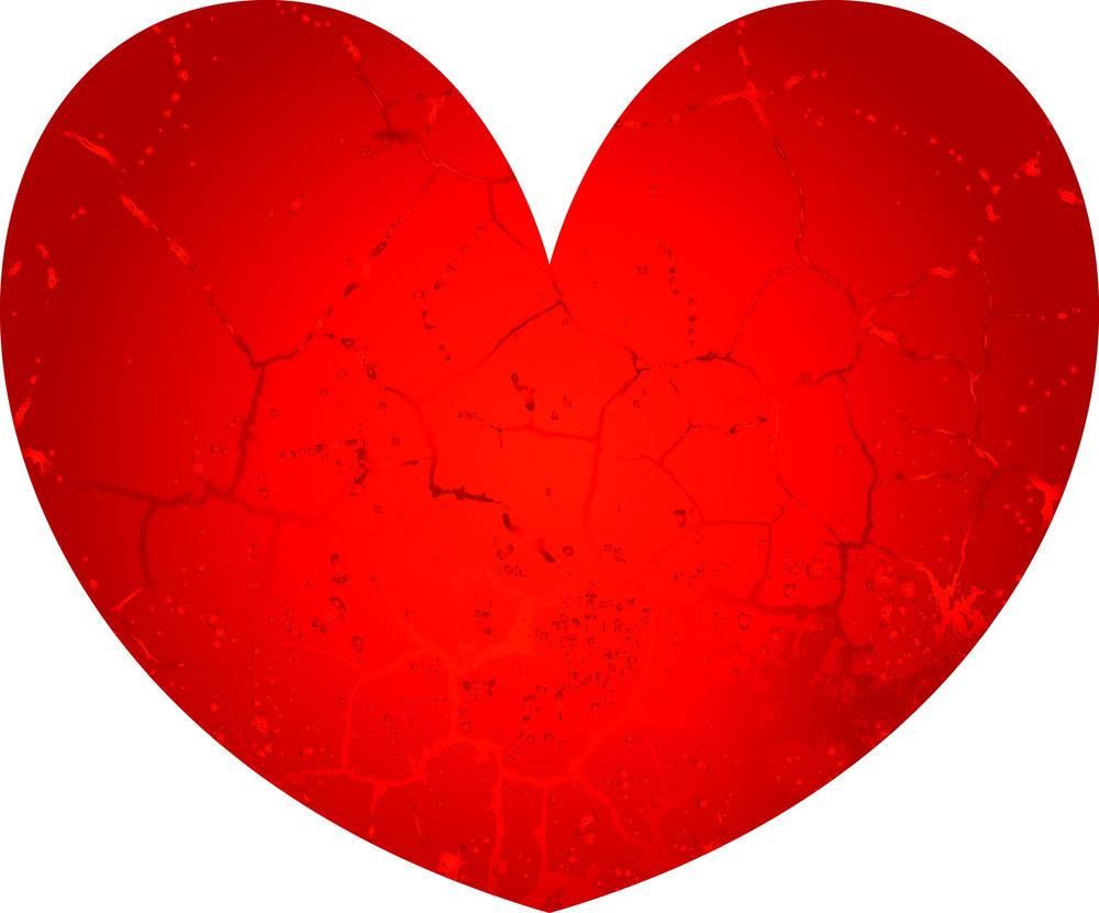 Vintage Red Heart