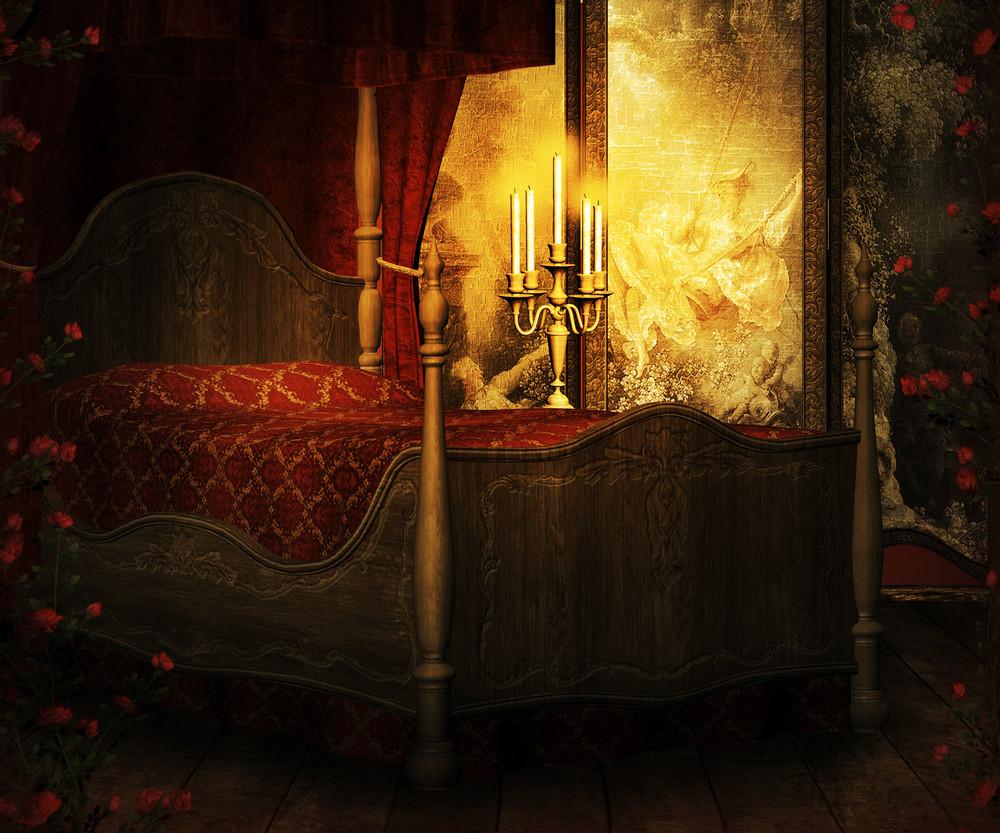 Vintage Room Premade Background