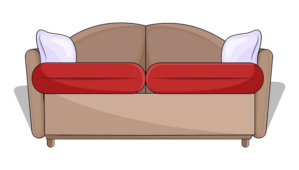 Vintage Sofa Vector