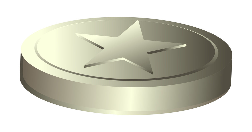 Vintage Star Coin