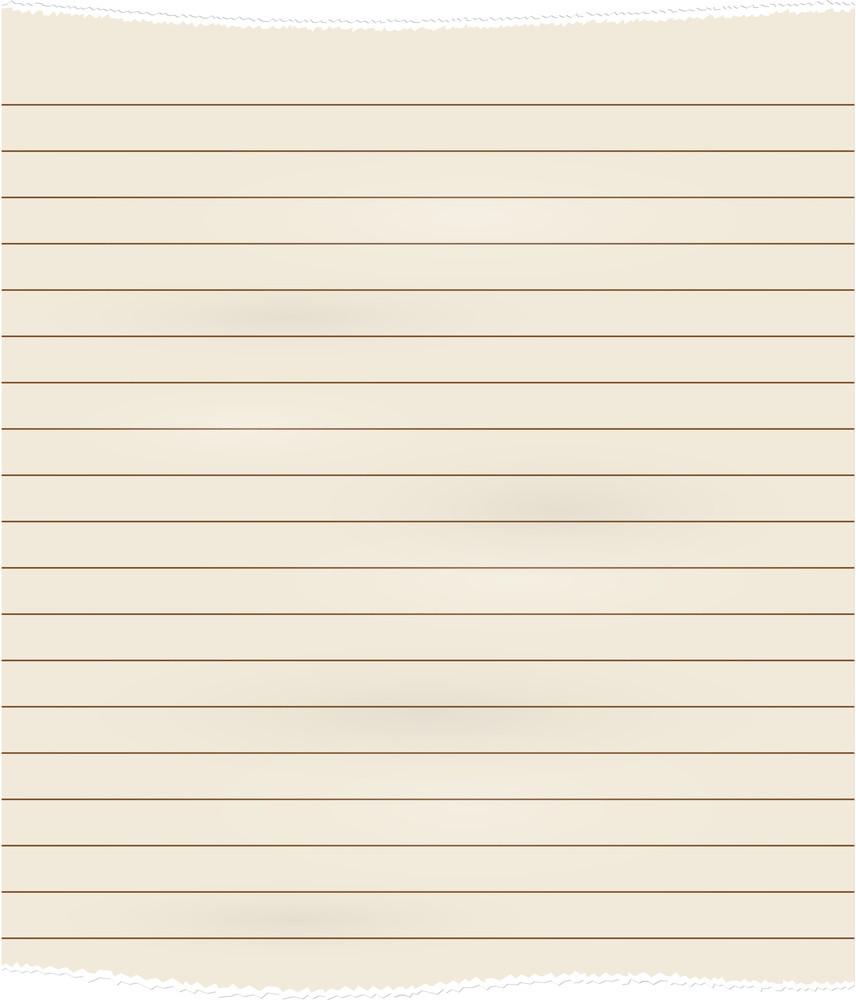 Vintage Striped Page