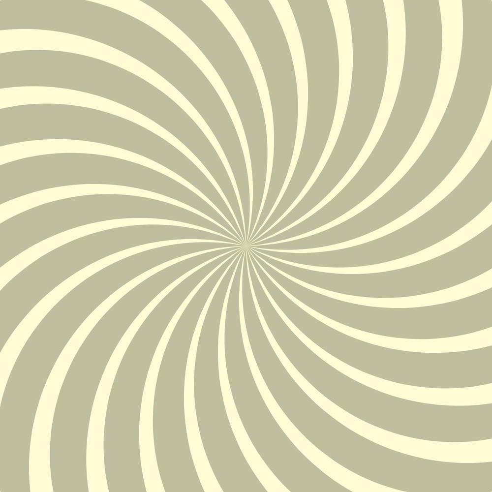 Vintage Swirl Lines Sunburst Backdrop