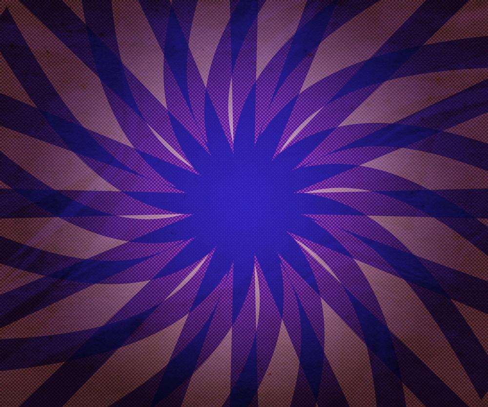 Vintage Violet Rays Background