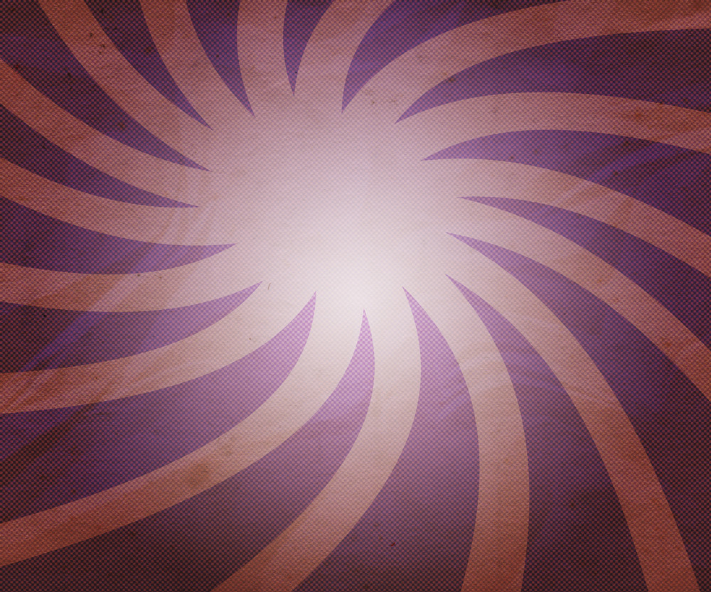 Vintage Violet Twist Rays Background